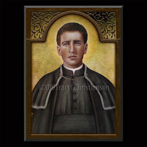 St. Toribio Romo Gonzalez Plaque & Holy Card Gift Set