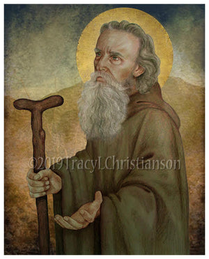 St. Anthony the Abbot Print