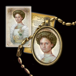 Zita of Bourbon-Parma Pendant & Holy Card Gift Set