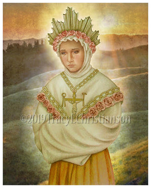 Our Lady of La Salette Print