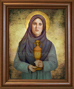 St. Sophia, Mother of Orphans Framed