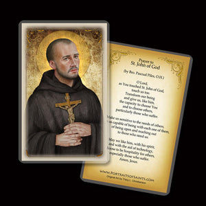 St. John of God Holy Card
