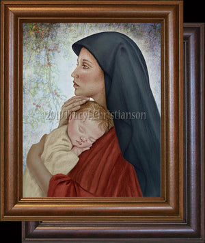 Madonna & Child (O) Framed