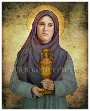 St. Sophia, Mother of Orphans Print
