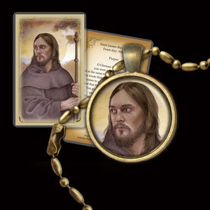 St. James the Less Pendant & Holy Card Gift Set