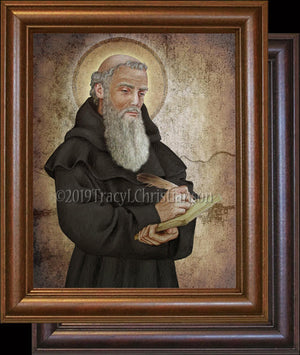 St. Bede the Venerable Framed