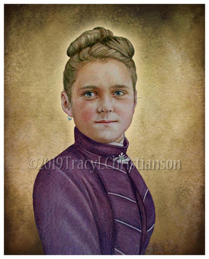 St. Therese of Lisieux (Teenager) Print