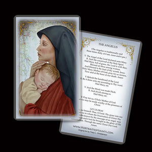 Madonna & Child (O) Holy Card