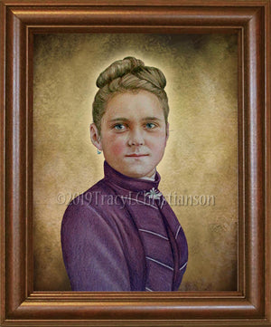 St. Therese of Lisieux (Teenager) Framed