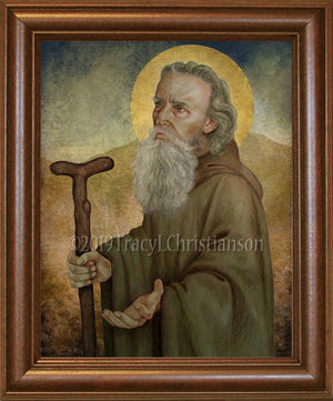St. Anthony the Abbot Framed