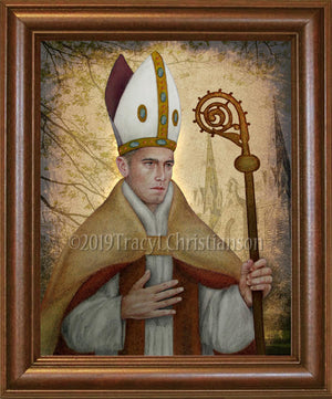 St. Thomas of Villanova Framed