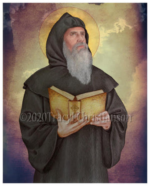 St. Gregory of Narek Print