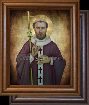 Pope St. Clement I Framed