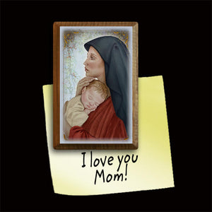 Madonna & Child (O) Magnet