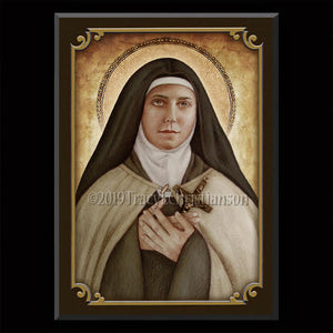 St. Teresa of the Andes Plaque & Holy Card Gift Set