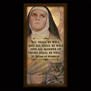 St. Julian of Norwich Inspirational Plaque