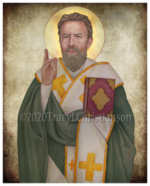 St. Cyril of Jerusalem Print