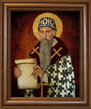 St. Cyril of Alexandria Framed