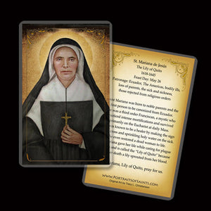 St. Theodore Guerin Holy Card