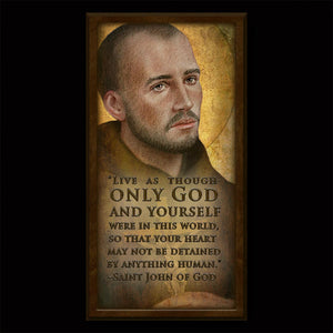 St. John of God Inspirational Plaque