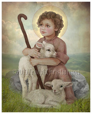 The Little Shepherd Print