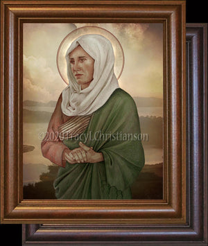 St. Paula of Rome Framed