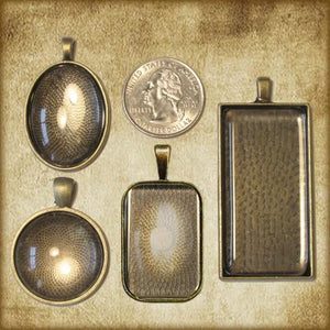 St. Padre Pio (A) Pendant & Holy Card Gift Set