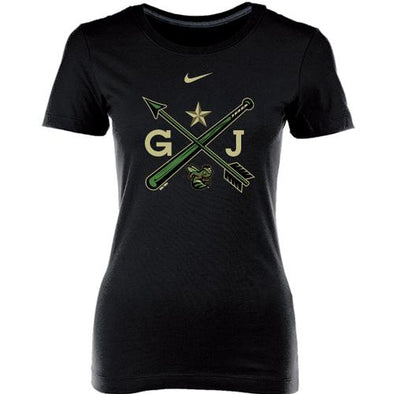 Augusta GreenJackets Ladies Nike Memorial Day Arrow Design Tee