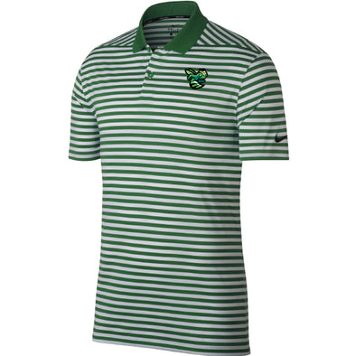 Green Stripe Golf Polo