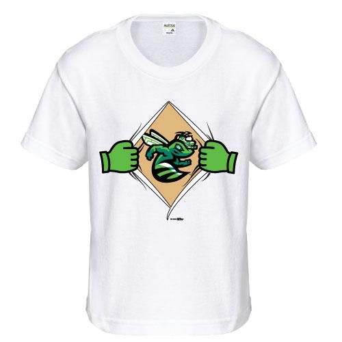 Augusta GreenJackets Youth Superhero Tee