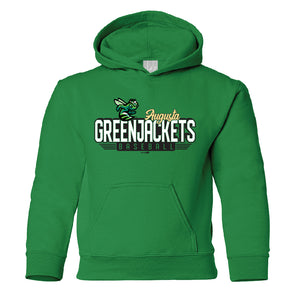 Youth GreenJackets Baseball Hoodie