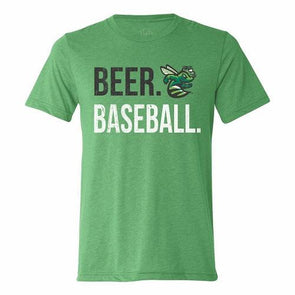 GreenJackets Beer Baseball Tee