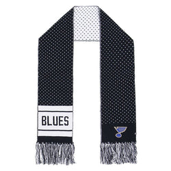 St. Louis Blues 47 Brand Womens Gigi Knit Scarf - Navy | STL Authentics
