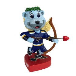 St. Louis Blues Louie Valentine Bobblehead | STL Authentics