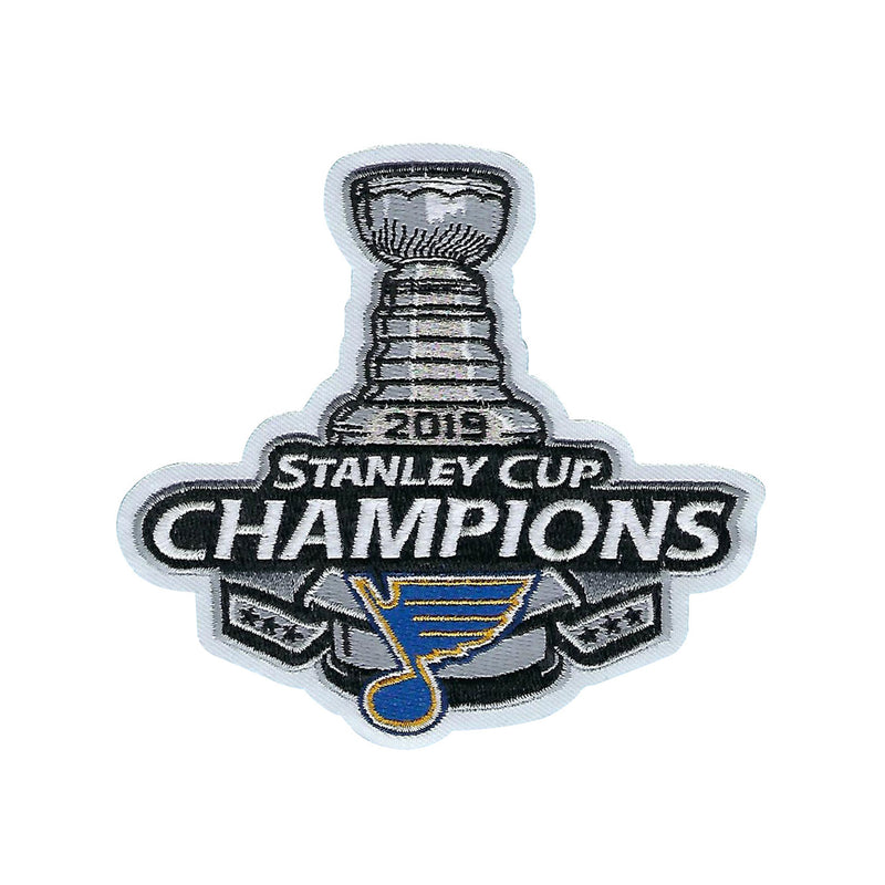 St. Louis Blues 2019 Stanley Cup Champions Patch - STL Authentics