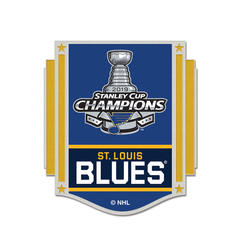 St. Louis Blues WinCraft 2019 Stanley Cup Final Champions Collectors Pin | STL Authentics