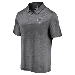 St. Louis Blues Fanatics 2019 Stanley Cup Final Champions Line Brawl Polo - Grey | STL Authentics