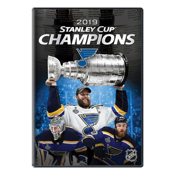 St. Louis Blues 2019 Stanley Cup Champions Official DVD - STL Authentics