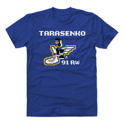 St. Louis Blues NHL 94 Vladimir Tarasenko Video Game Tee - Royal - STL Authentics