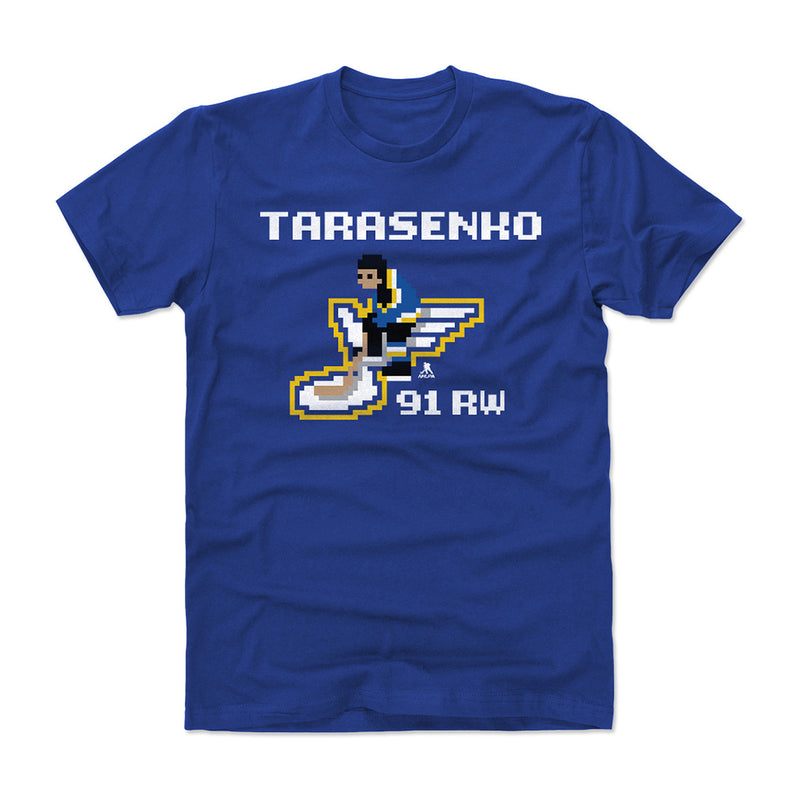 St. Louis Blues Youth NHL 94 Vladimir Tarasenko Video Game Tee - Royal - STL Authentics