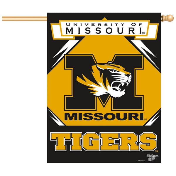 University of Missouri Verticle Flag | STL Authentics