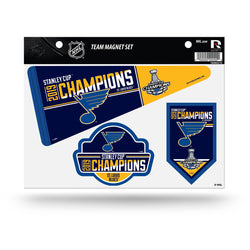 St. Louis Blues 2019 Stanley Cup Champions Tailgating Magnet Set | STL Authentics
