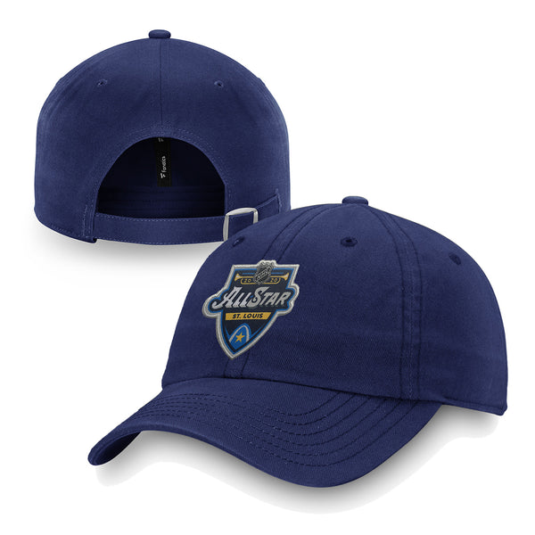 NHL All-Star 2020 Fanatics Primary Event Adjustable Slouch Hat - Navy | STL Authentics