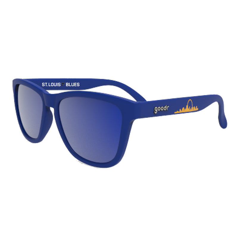 St. Louis Blues Goodr OG Running Sunglasses | STL Authentics