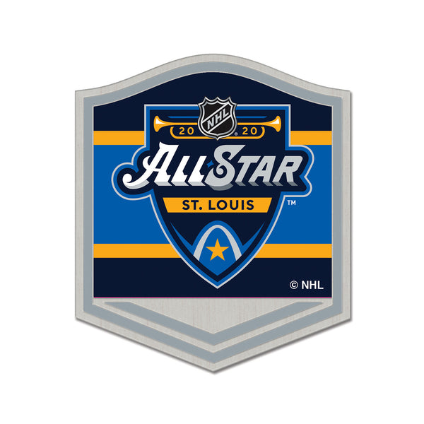 NHL All-Star 2020 WinCraft Primary Event Pin - STL Authentics