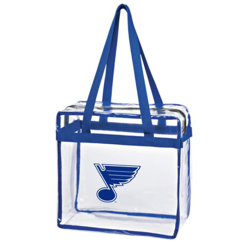 St. Louis Blues Clear Tote Bag - STL Authentics
