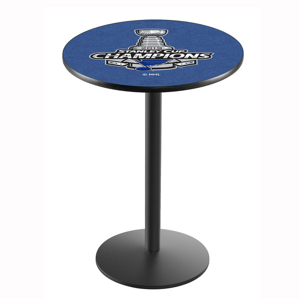 Holland St. Louis Blues Stanley Cup Champions 42x36 Pub Table