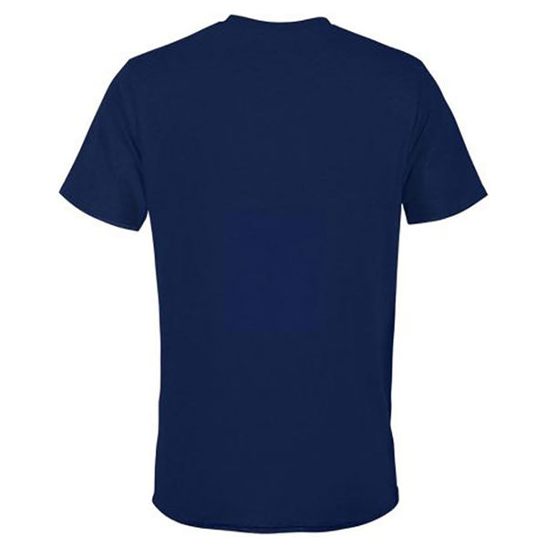 St. Louis Blues Fishbowl Hockey Blue Note Reflective Arch Tee - Navy