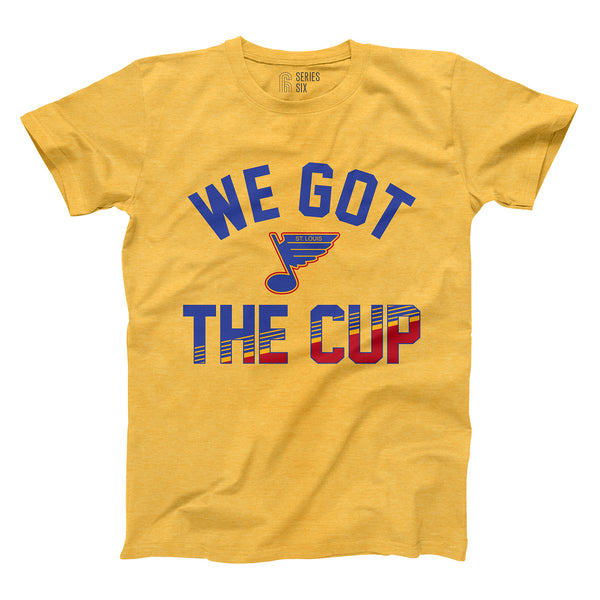 St. Louis Blues Series Six 'We Got The Cup' Tee - Gold