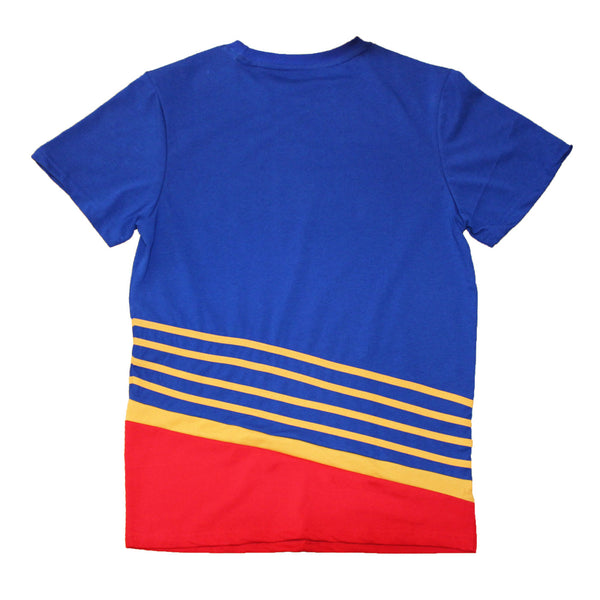 St. Louis Blues Series Six Retro 90's Throwback Jersey Tee - Royal - STL Authentics
